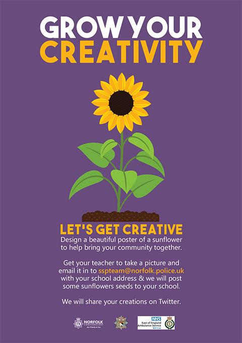 Safer-Schools-Poster---Sunflower